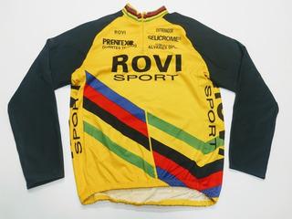 Remera Ciclismo Rovi Sport Mangas Largas Talle M