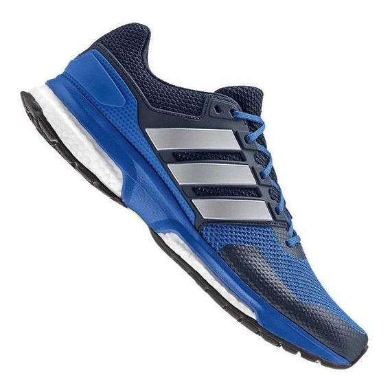 Tenis adidas Boost Response 2 Azul Corrida