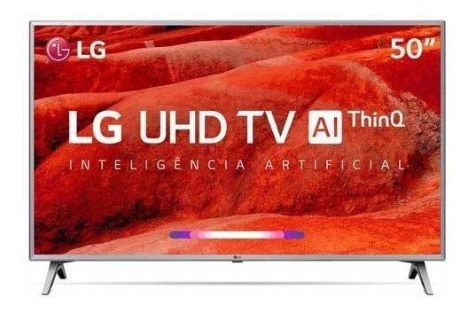 Smart Tv 4k Lg Led 50 Upscaler Hdr Ativo Wi-fi - 50um7500psb