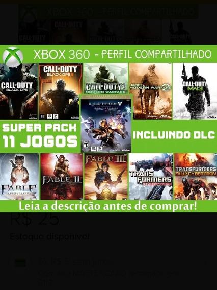 Super Combo De Jogos Xbox 360 Mídia Digital