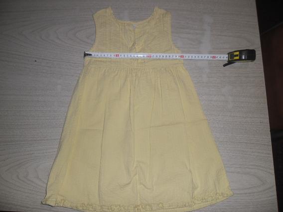 Vestido De Nena Mide 63cm De Largo