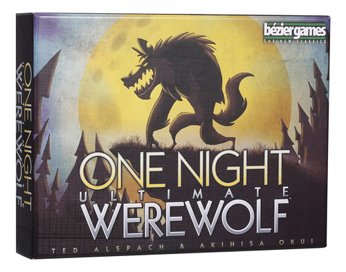 One Night Ultimate Werewolf Card Games 10 Minutos Fast Table