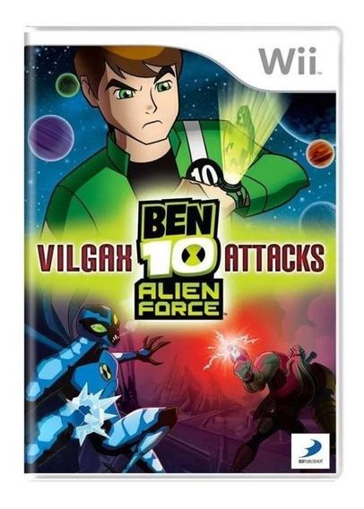 Ben 10 Alien Force Vilgax Attacks Wii Mídia Física Usado