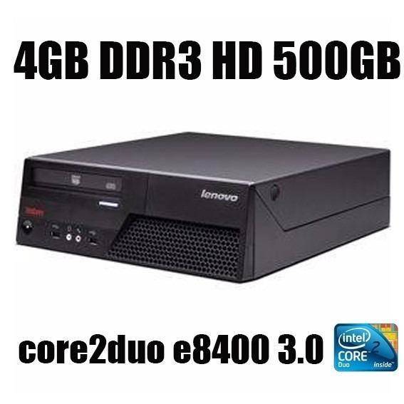 Computador Lenovo Mt-m6234 Core2duo 3.0 Hd500gb 4gb Ddr3
