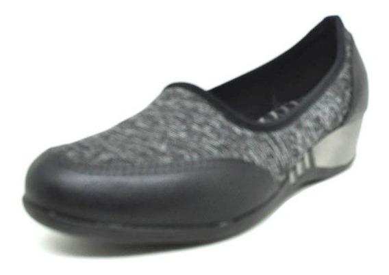 Sapatos Femininos Tenis Ortopedico Mescla Cinza Dani K
