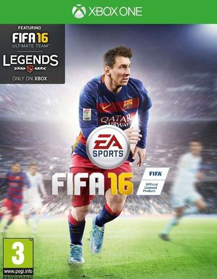 Fifa 16 - Xbox One - Mídia Digital Original Envio Digital
