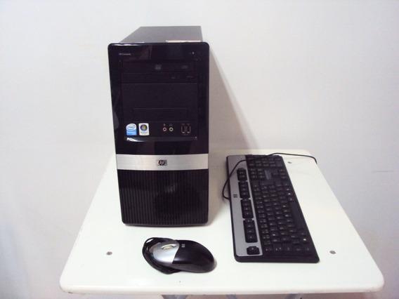Computador Hp Compaq Dx2390 Pentium Inside Hd 160gb 1gb Ram