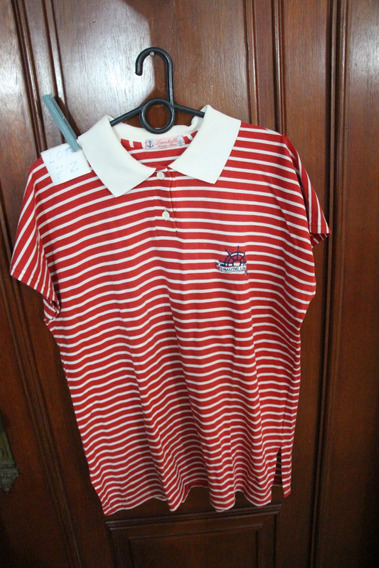 = Roupa Lote 712 Mulher Camisa Polo Larichelle Nautic Line G