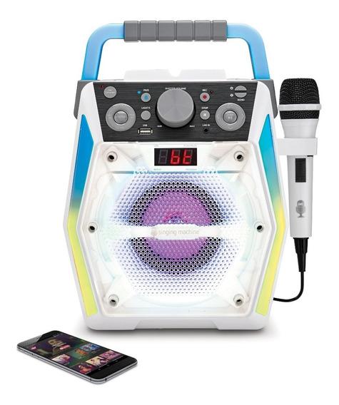 Karaoke Singing Machine Glow Sml2200 Bluetooth Cd Usb L-in
