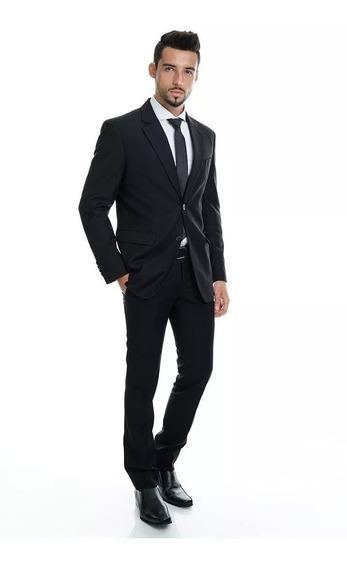 Terno Slim Completo - Azul Royal - Promoção