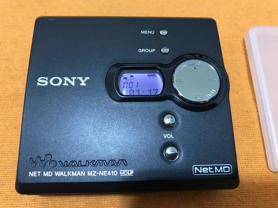 Md Walkman Portátil Minidics Sony Net Mz-ne410 Super Novo