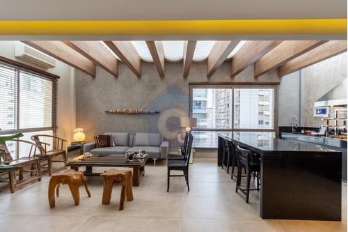 Imagem 1 de 15 de Apartamento Belíssimo De 345 M², 3 Suítes, 3 Vagas, Varanda Gormet - Itaim Bibi - Tw15895