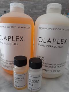 Olaplex Paso 1 (7.5ml) Y Paso 2 (15ml)