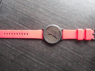 Reloj Skechers Sr5043 Nuevo Hombre Original Rojo