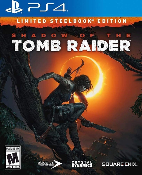Shadow Of Thetomb Raider Limited Steelbook Edition Para Ps4