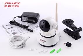 Câmera Ip Wi-fi Sem Fio Da Câmera Babá De Vigilância 720 P