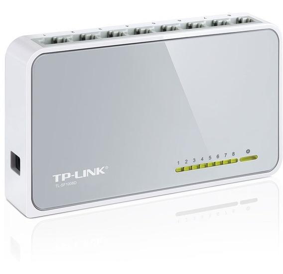 Switch Tp-link 8 Puertos Tl-sf1008d 10/100mbps