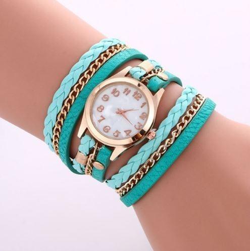 Relógio Feminino Bracelete Varias Cores