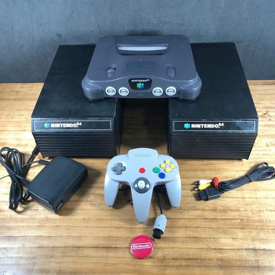 Super Coleção: Nintendo 64 Na Gaveta C/ 24 Jogos Originais!!