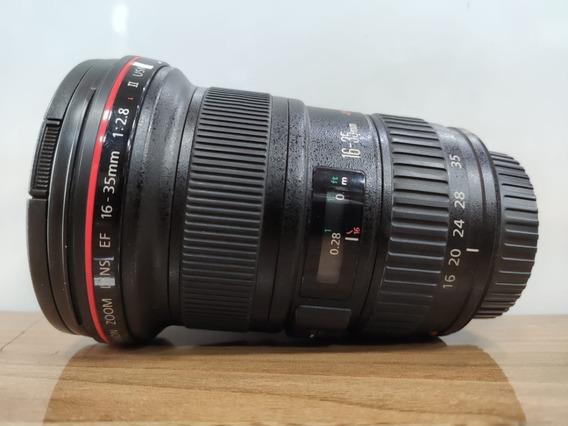 Lente Canon 16-35 F/2.8 Semi Nova