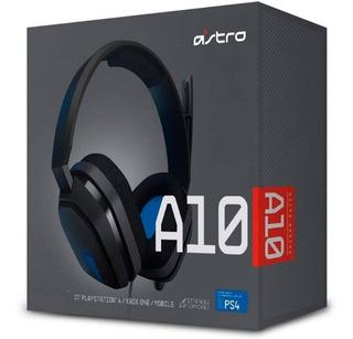 Diadema Astro A10 Edicion Ps4 Gamer Xbox One/switch/pc 3.5mm