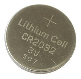 2 Cartelas De Bateria 3v Cr2032 - 10 Unidades
