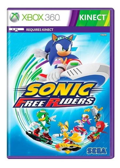 Sonic Free Riders Xbox 360 | Mídia Física Original