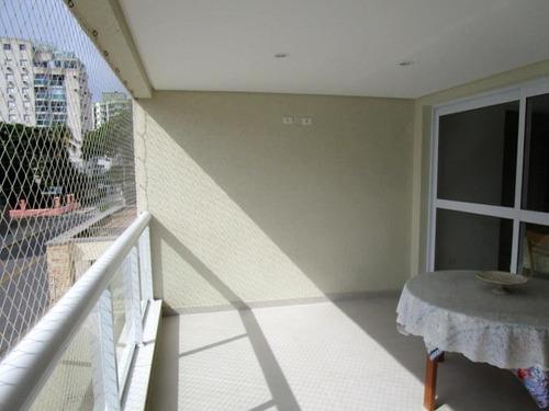 Apartamento Residencial À Venda, Praia Da Enseada, Guarujá. - Ap6231