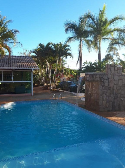 Chácara Do Condomínio Fechado Real Village Em Piratininga - Ch0011