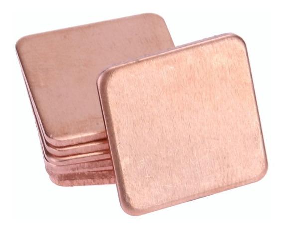 Thermal Pad Cobre ( Chapa De Cobre) 15x15x1,2mm