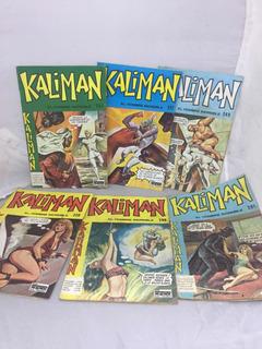 Kaliman Revista Lote De 6 Edt Cinco Eilcolombia