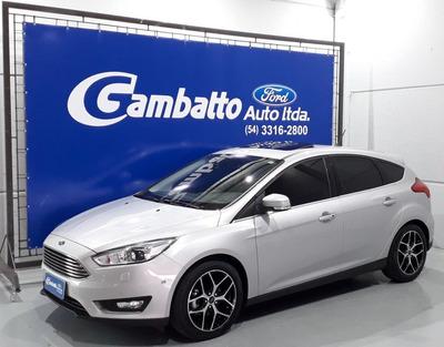 Ford Focus Titanium Plus 2018 Prata Flex