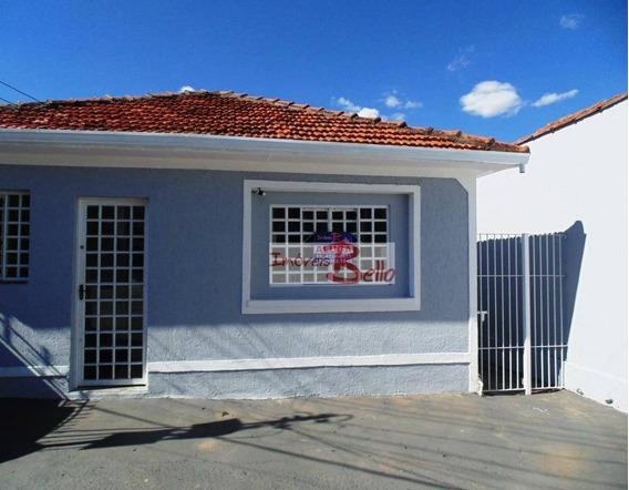 Aluga Casa Comercial/residencial Região Central Itatiba/sp - Ca1242