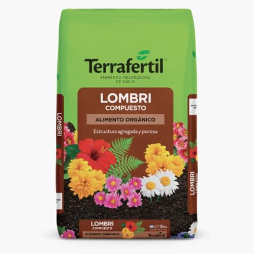 Humus De Lombriz X5 Litros Terrafertil
