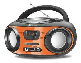Radio Bomboox Mondial Bx18 Fm Cd Usb Bluetooth Fone - Bivolt