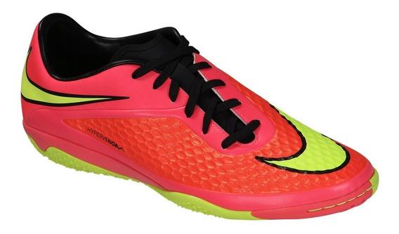 Nike Hypervenom Phelon Ic Rosa Negro