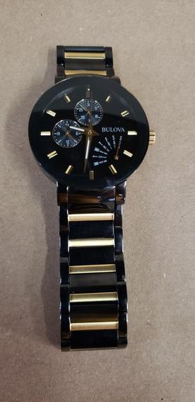 Relógio Bulova Masculino Modelo 98c124 Original