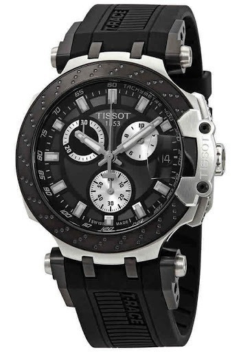 Relógio Tissot T-race Black Dial T1154172706100