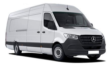 Imagem 1 de 8 de Mercedes-benz Sprinter 416 Furgão Extra Longa