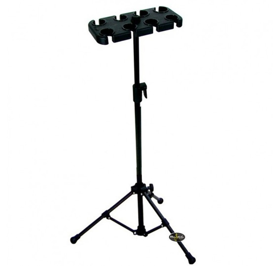 Pedestal De Microfone Vector Am08p Para 8 Microfones