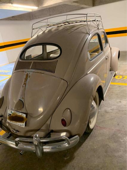 Volkswagen Oval 1957 Vocho Seda