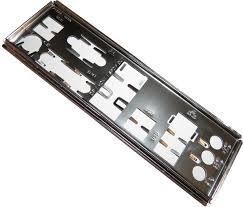 Espelho Traseiro P/ Placa Mãe - Muitos Modelos 775 E 1155
