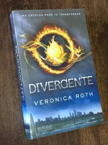Livro Divergente - Veronica Roth - Série Divergente Vol. 1