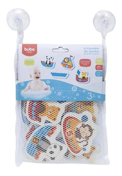 Brinquedo Para Banho Aprendendo A Contar Buba Baby 6706