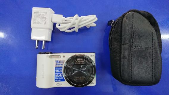 Cámara Fotográfica Samsung Wb150f 14.2mpx, Cargador Y Funda