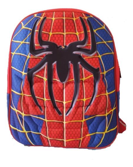 Mochila 3d Batman Spiderman Superman Ironman Jardin 12p