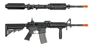 Rifle Aeg Fuzil Airsoft Ares Ar-013e M4 Ras2 Long