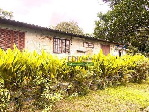 Imagem 1 de 15 de Chácara Com 2 Dormitórios À Venda, 3800 M² Por R$ 250.000,00 - Zona Rural - São José Dos Campos/sp - Ch0639