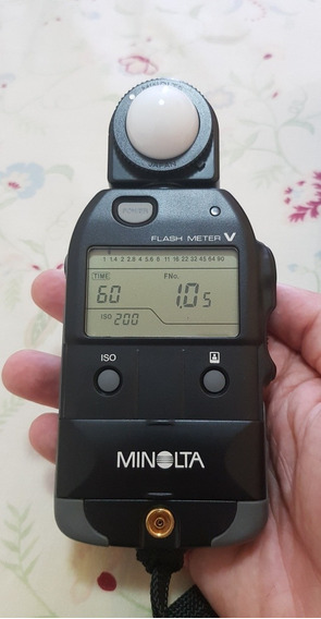 Fotômetro Flash Meter Minolta V