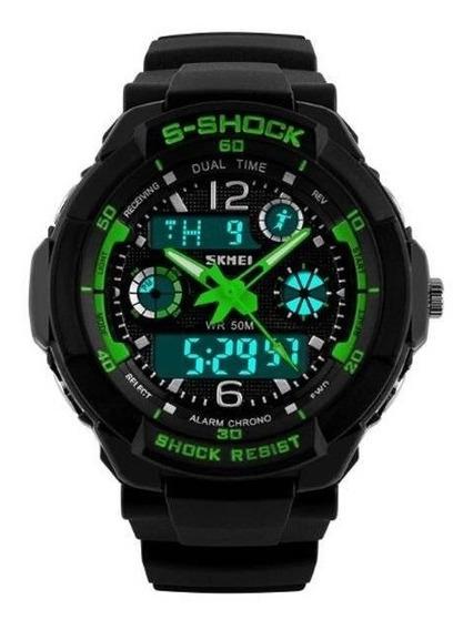 Relógio Masculino Skmei Digital Militar Esportivo Original